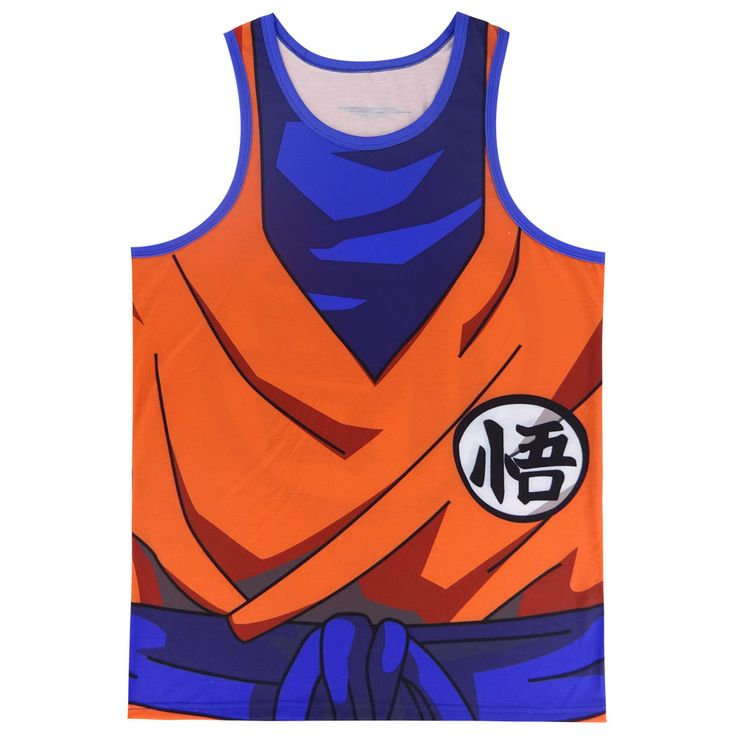 Dragon Ball Z Training Tank Tops - free shipping worldwide