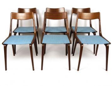 6 chaises danoises en teck