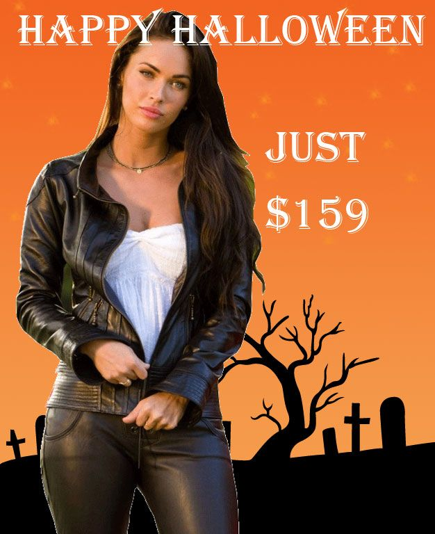 Change your outlook in the upcoming to wear out Black Biker Transformers 2 Megan Fox Jacket. Grab it now!!!  #Transformers2 #MeganFox #Halloween #Cosplay #Fashion #Sexy #sale #Hot #Shopping #Lol #Omg #WOmensfashion #Femaleoutfit #Leatheroutfit