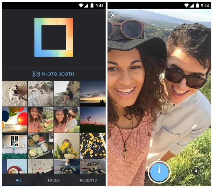 Instagram brings Layout app's custom photo collages to Android