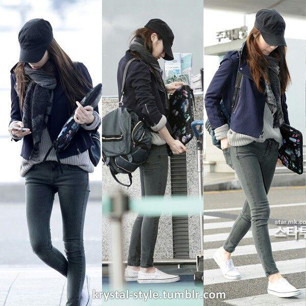 F X Krystal Airport Fashion Krystal Jung Pinterest