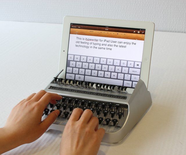 iTypewriterVoulez Rire, Gadgets, You Want To, Austinyang, Austin Yang, Machine, Itypewrit, Ipad Typewriters, Products