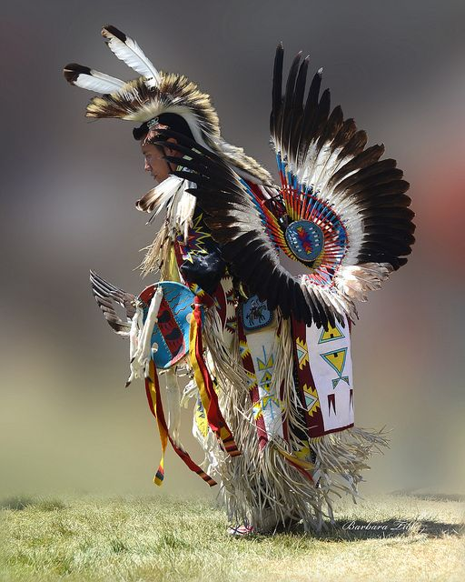 Mens traditional dancer at the 2013 Julyamsh Powwow. I actually went to a powwow earlier this year, and it was awesome!