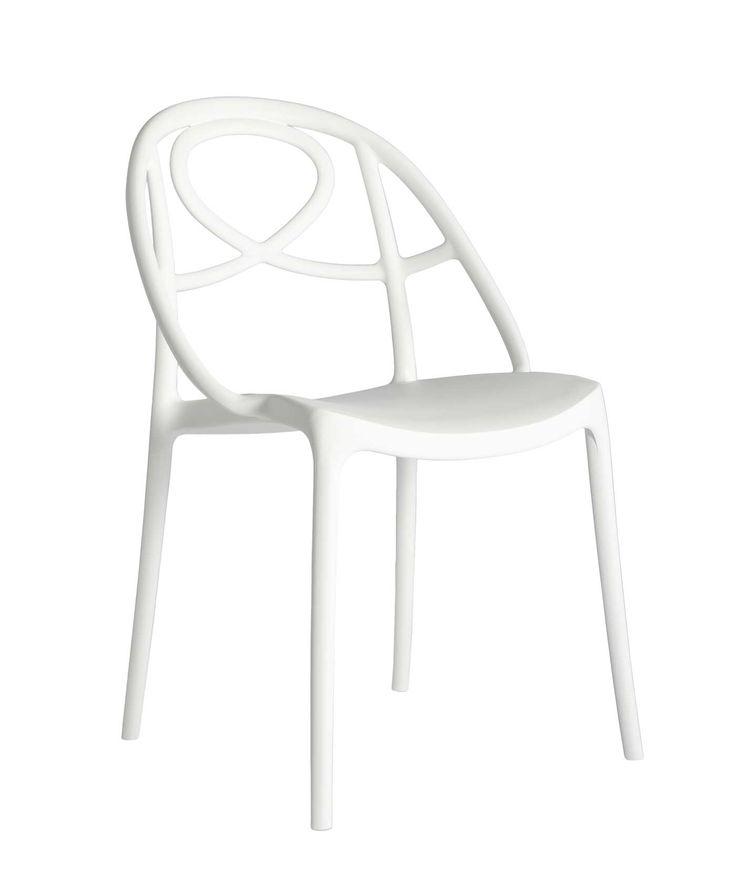 chaise polypropylène gris jaune noir original orange qualité rouge meubles design contemporains haut de gamme vente site italiens qualité salon jardin