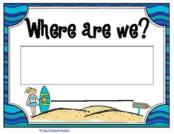 Hang this sign up on your door to show where your class is!It matches the other beach themed items I have for the classroom!http://www.teache...