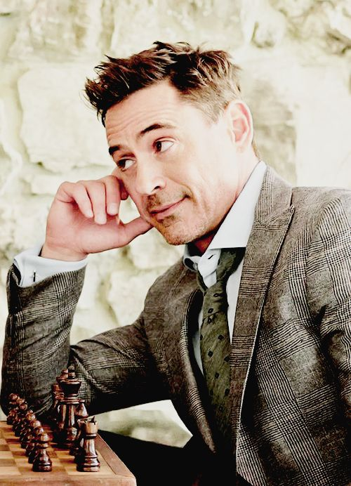 Robert Downey Jr. for Vanity Fair (Oct. 2014) by Sam Jones