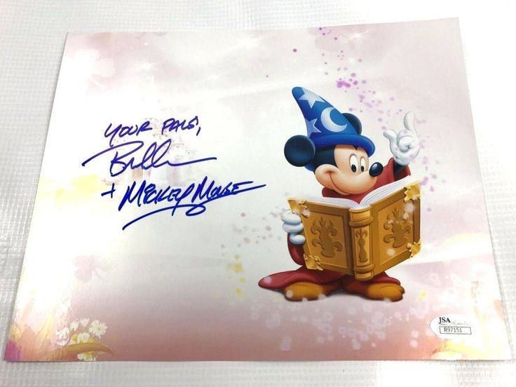 Bret Iwan Autograph 8x10 Photo Mickey Mouse Picture Signed JSA Disney Z1