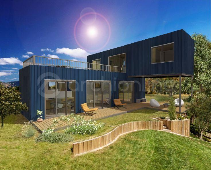 35 best blueprint homes images on pinterest house design resultado de imagen para casa container malvernweather Images