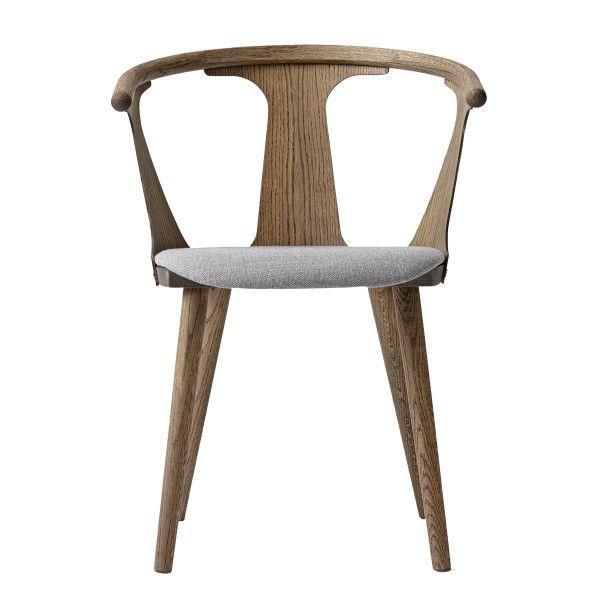 In Between stoel met zitkussen   &tradition