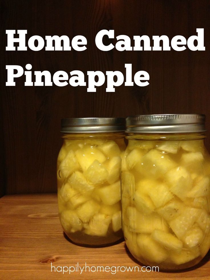 Once you try this home canned pineapple, you'll never stock your pantry with the cans from the grocery store again.