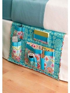 Bedside Caddy Sewing Pattern | InterweaveStore.com