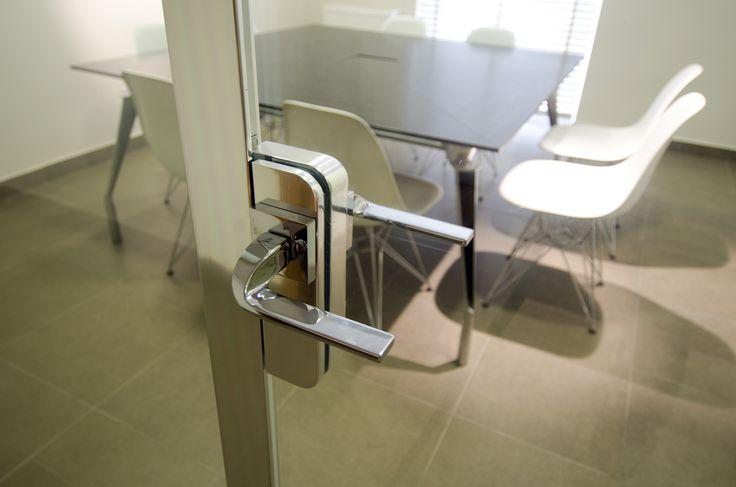 Interior Glass Partition (detail)