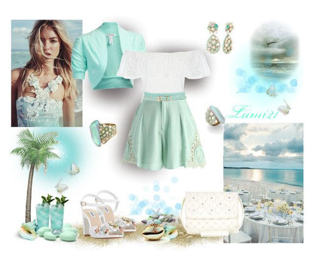 mint by lumi-21 on Polyvore featuring J.TOMSON, Chicwish, Dune, Monsoon and Alexis Bittar