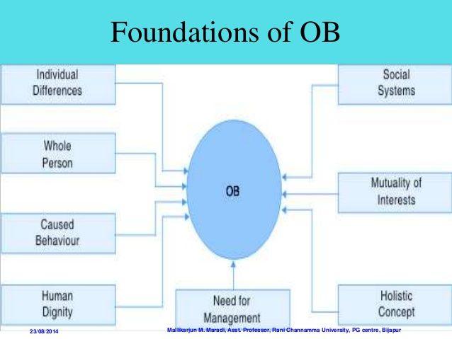 characteristics of organisational behaviour