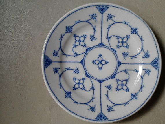 Set of 5 plates Denmark by Kahla by Scandipots on Etsy, $29.00