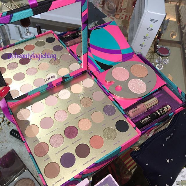 Exclusive at Ulta the Tarte Tarteist paint palette holiday 2016