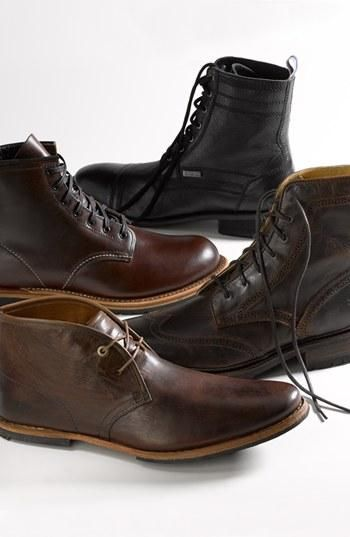 Menswear Fall Classic: Leather chukka boot by Timberland Boot Company.