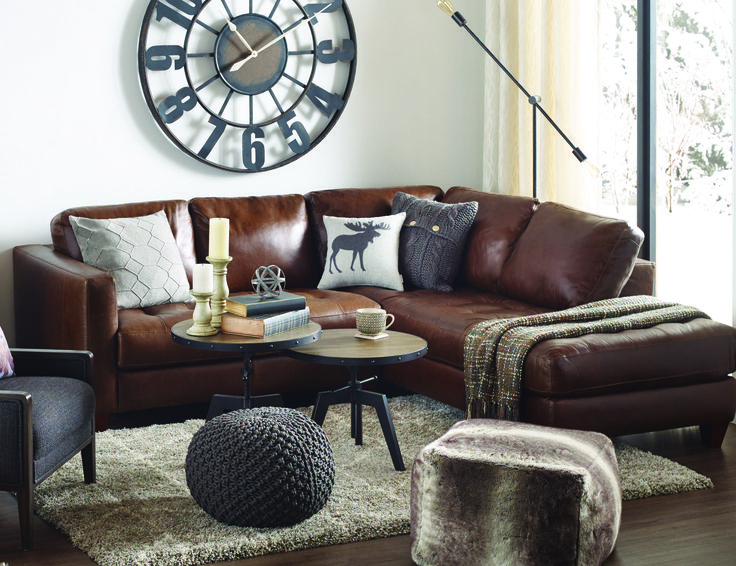 Timeless Stylish And Super Comfy The Hara Leather Sofa Chaise Is A Must