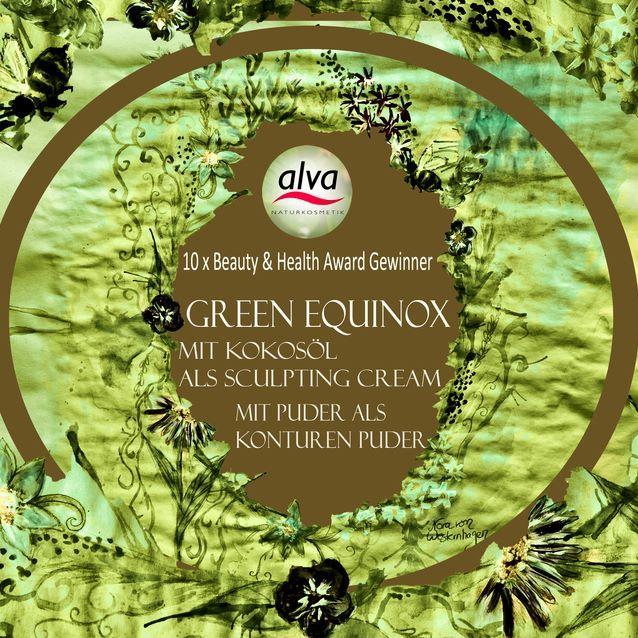"""Green Equinox - Mineral Master Palette by alva - """"Gaia"""", """"Soft and Gentle""""und """"Side by Side"""" mit Puder perfekt als Konturenpuder - mit Kokosöl schön zum verblenden als Sculpting Make up Cream #ideenfürdenbuchhandel #Buchhandel #Buchhändler #diyideen #diygeschenkideen #diygeschenke #diyrezepte #Rezepte #Kokosöl #rezeptemitkokosöl #diynaturkosmetik #diyorganiccosmetics #mineralmakeup #masterpalette #makeuppalette #alvanaturkosmetik #alvacosmetics #makeupohnetierversuche #crueltyfreebeauty"""