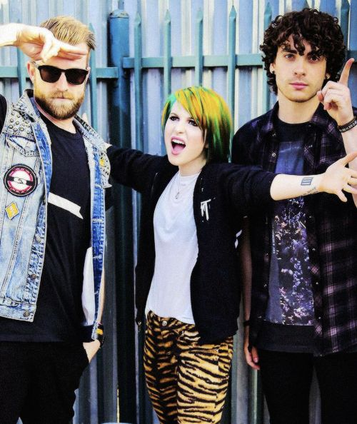 Paramore :) seeing them live in august:)