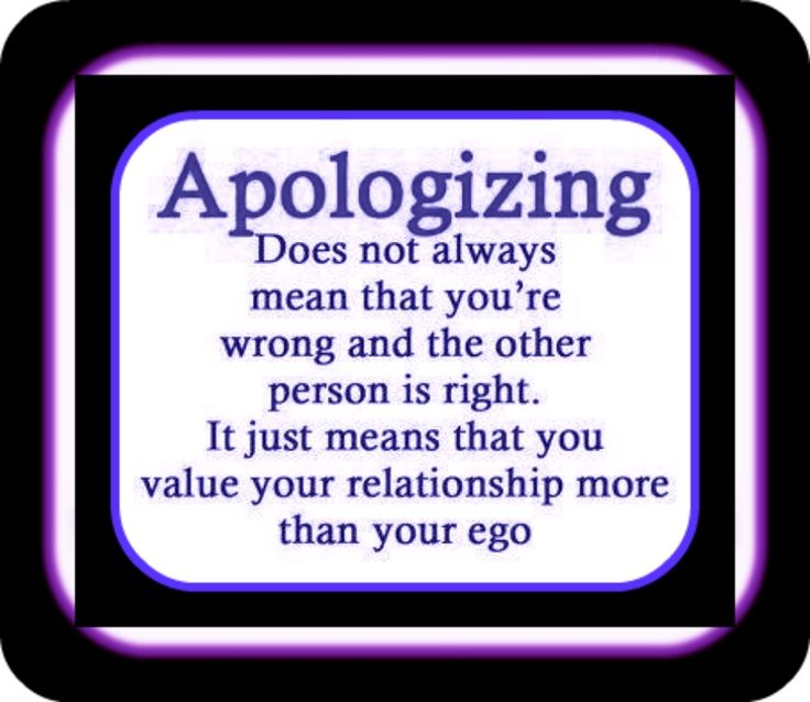 quotes on saying i'm sorry - Google Search
