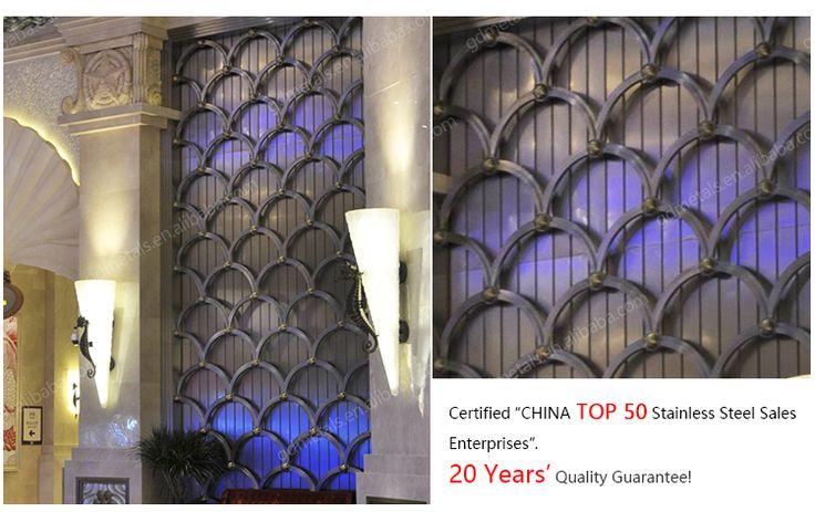 OEM&ODM manufacturer custom design 3d metal decorative wall panel