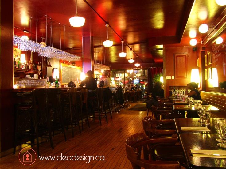 Restaurant les Tontons Flingueurs Montréal, par Cléo design | café ...