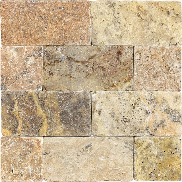 3 x 6 scabos travertine tumbled 73 038 crema onyx