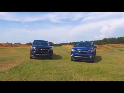 The 2016 Colorado Midnight Edition and Trail Boss. Check out these new entries in the awesome Chevrolet lineup for 2016.