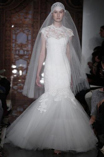 Seven eccentric #wedding veils from designer Reem Acra