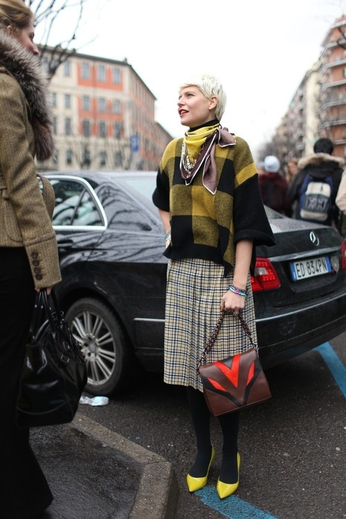 Elisa Nalin. Obsessed with her quirky and original take on ladylike style.
