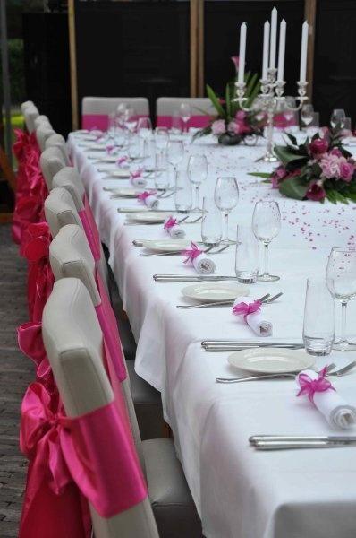 Fuchsia wedding styling | Portfolio In Style Styling & Decoraties | www.instylestyling.com