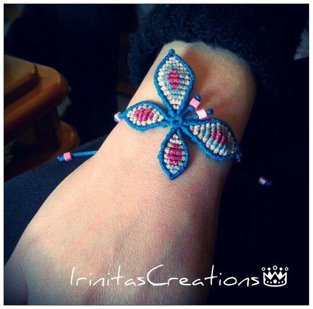 #macrame#macramebracelet#bracelet#butterfly#boho#etsy