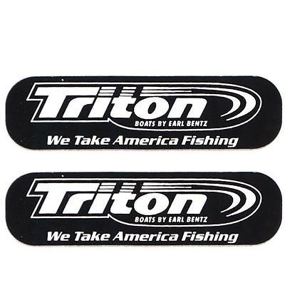 Triton we take #america #fishing 2 3/4 in boat #decal pair,  View more on the LINK: 	http://www.zeppy.io/product/gb/2/200653257194/