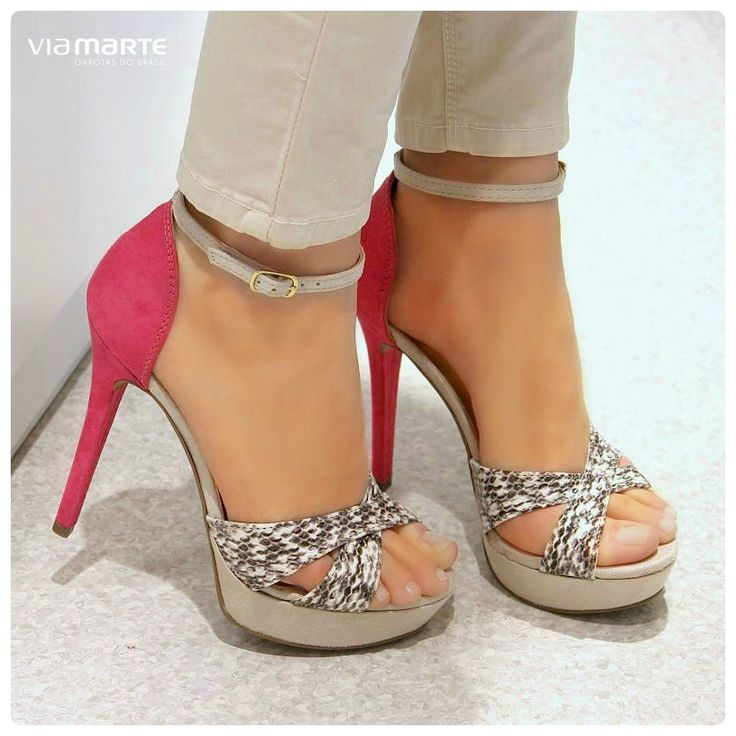 pink - animal print - heels - salto alto - party shoes - Ref. 14-18006 - verão 2015