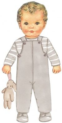 French patterns for kids by Citronille - Basile overalls US$12, E10,00