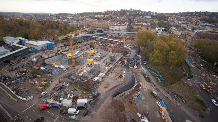 Prestigeprojekt der Deutschen Bahn. Stuttgart 21 wird wohl eine Milliarde Euro teurer - und ein Jahr später fertig