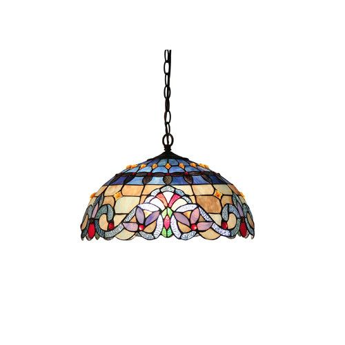 Found it at Wayfair - Victorian 2 Light Grenville Ceiling Bowl Pendant