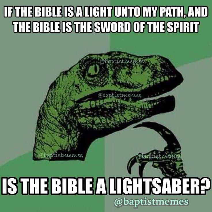 #lightsaber -@gmx0 #BaptistMemes