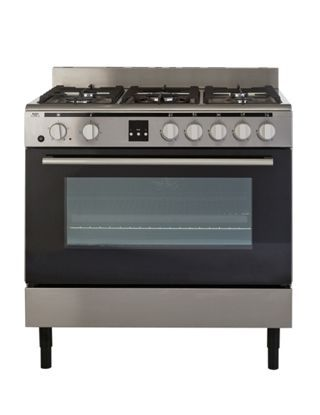 Buy Bush BSC90DFSS Dual Fuel Range Cooker - Stainless Steel at Argos.co.uk, visit Argos.co.uk to shop online for Freestanding cookers, Cooking, Large kitchen appliances, Home and garden