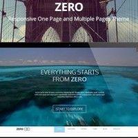 Zero multipurpose WordPress theme #wordpress