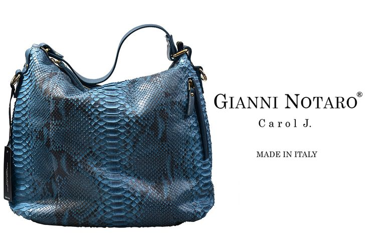 Gianni Notaro hand Bag collection 2015.  The modern version of your snake-skin bag... is HERE!! Discover more in Galleria Di Scarpe