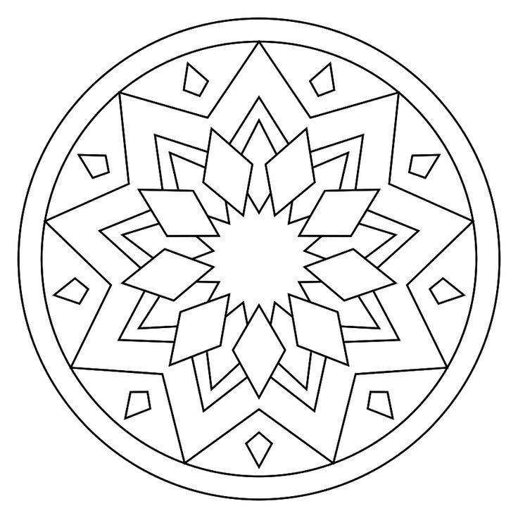 printable mandala i keep looking for simple mandala to embroider this is a maybe embroidery. Black Bedroom Furniture Sets. Home Design Ideas