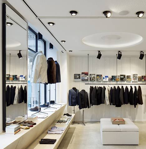 Spencer Hart Flagship Store By Shed And Nick