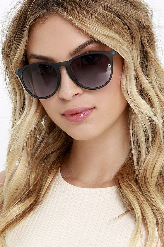 Sunray Vision Slate Blue Sunglasses at Lulus.com! #mallchick #fashion