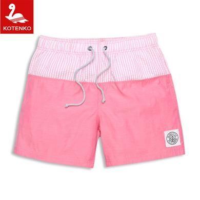 Mens Beach Shorts Cotton