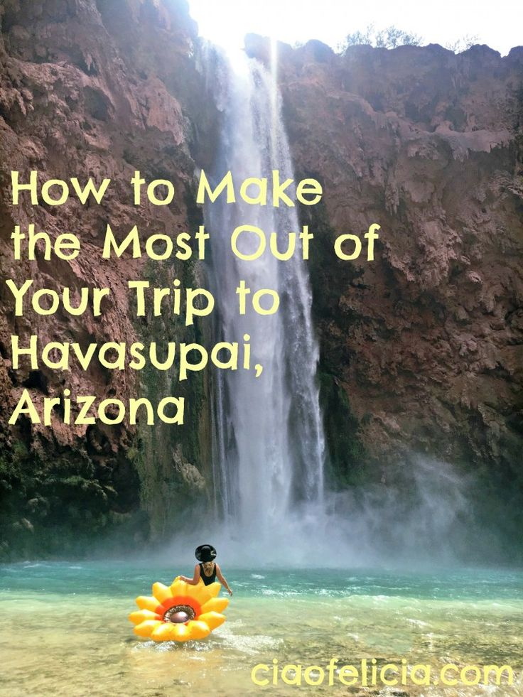 Packing tips, and other suggestions for making the most out of your trip to Havasupai falls, Arizona.  Supai is in the Grand Canyon!