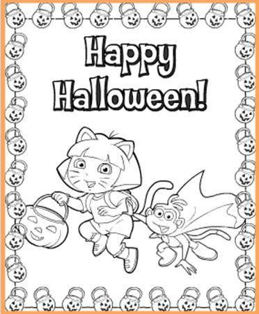 Link To Free Nick Jr Halloween Printables
