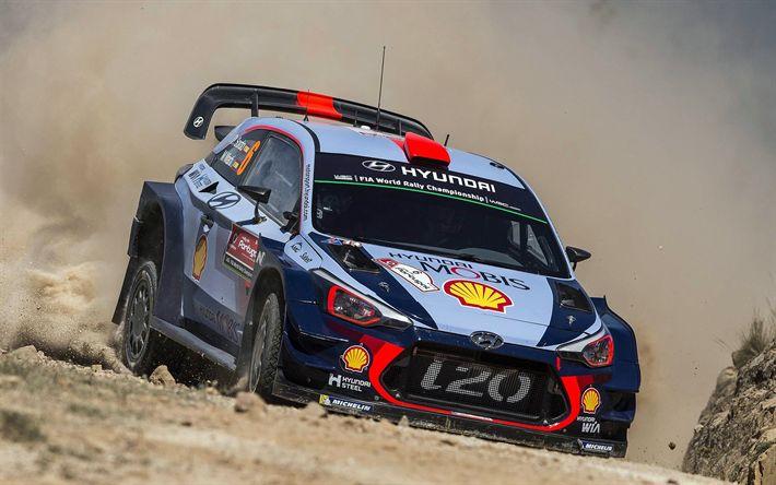Download imagens Daniel Sordo, Espanhol de ralis, WRC, Campeonato Mundial De Rali, Condução, Hyundai i20 WRC