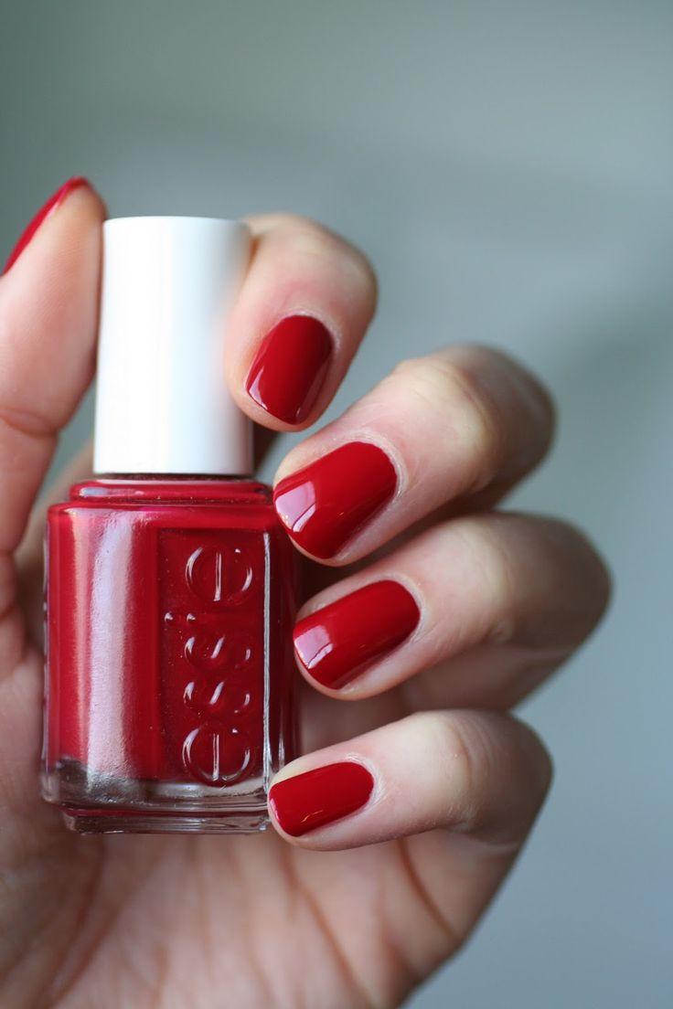 red nail polish ideas